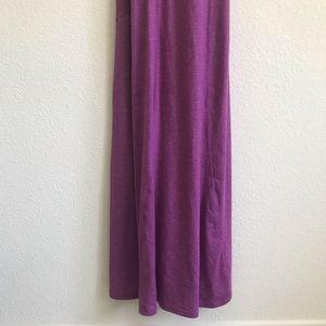 Athleta Dresses - Athleta Purple Twist & Turn maxi Dress XS